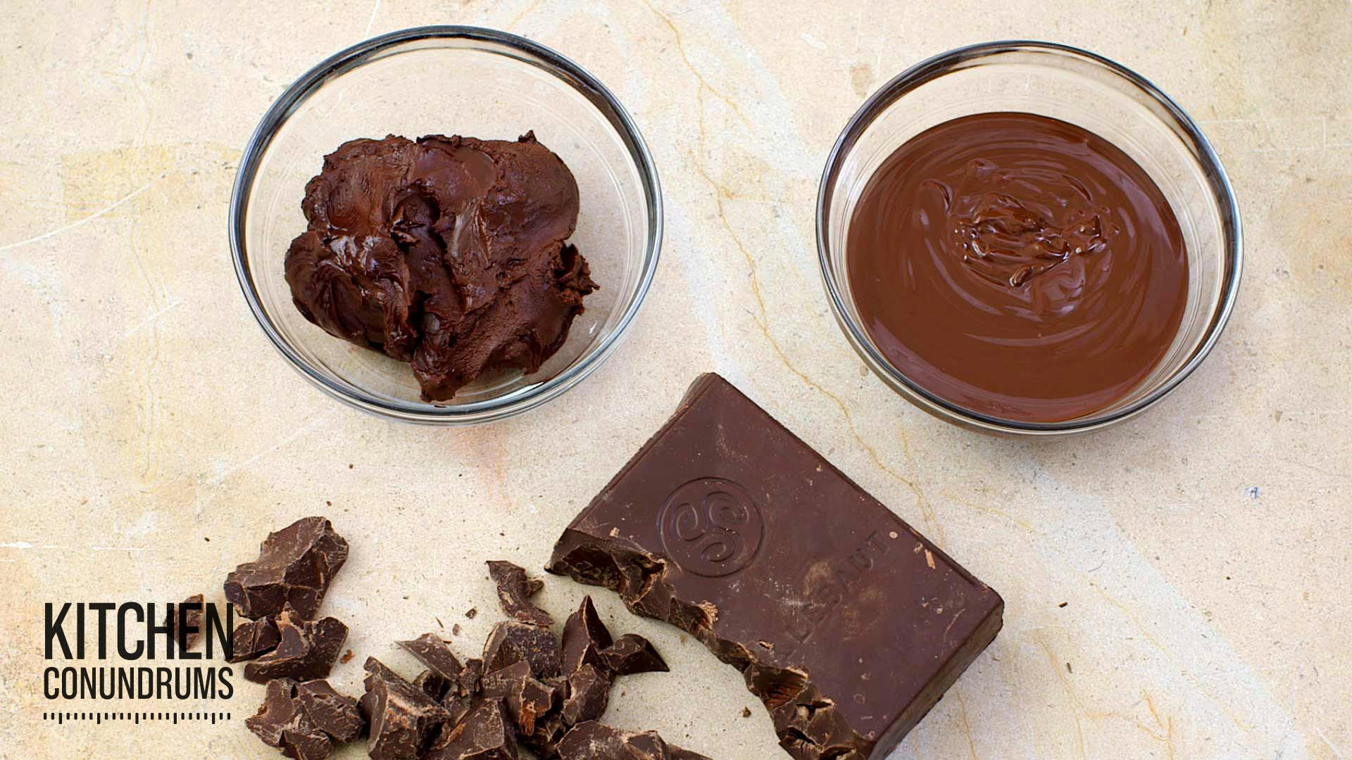 How To Melt Chocolate The Right Way Kitchen Conundrums With Thomas Joseph Best Chocolate Shop
